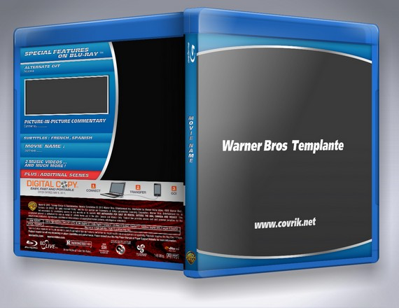 Warner Bros Blu-Ray Templante (2014)
